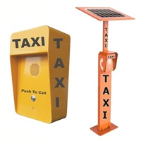solar powered taxi telephone call points