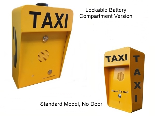 industrial vandalproof IP66 waterproof taxi free phone call poingt, 3g, analogue or voip call point with rechargeable batteries lined or mains power