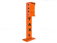 tango series taxi booking pillar call point robust taxi telephone 3G, analogue or VoIP, optional battery powered