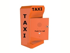 tango series taxi booking call point robust taxi telephone 3G, analogue or VoIP, optional battery powered
